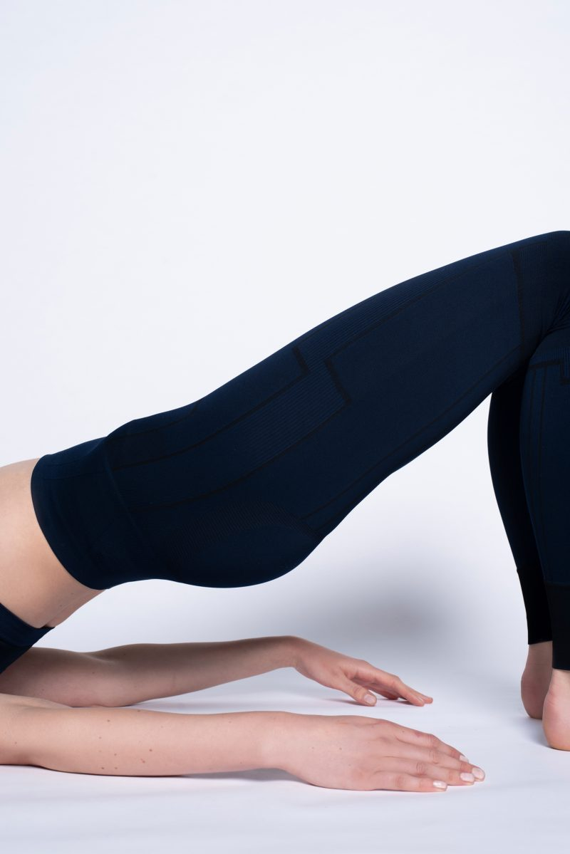 girl doing bridge pose you in upgraded activewear legging